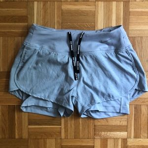 Gray Nike Dry Fit Shorts